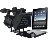 Ultralight iPad Prompter System