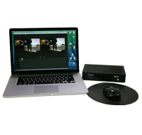 AJA IoXT and Macbook Pro Streaming System