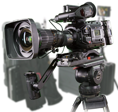 Blackmagic URSA MIni Pro 4.6K EFP Camera Package